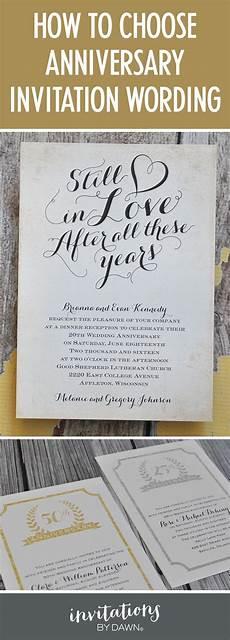 25th Wedding Anniversary Invitation Matter
