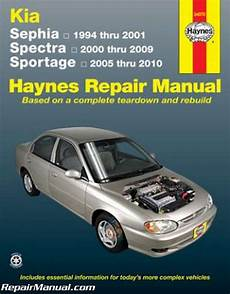 manual repair free 1995 kia sephia parking system haynes 1994 2001 kia sephia 2000 2009 spectra 2005 2010 sportage auto repair ebay