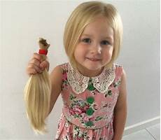 little girl s locks go to help cancer patients the courier