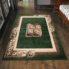 teppich wohnzimmer klassisch griechisch gr 252 n l 228 ufer s