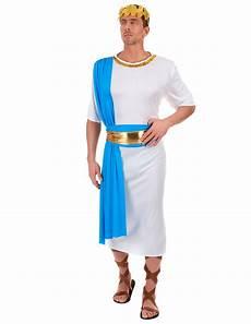Costume Dieu Grec Costume Da Imperatore Greco Bianco E Per Uomo Costumi
