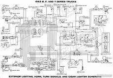 1963 ford truck wiring diagrams fordification info the 61 66 ford pickup resource
