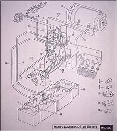 Potentiometer Wiring Diagram Ez Go by I An Harley Electric Golf Cart There Is A Coil