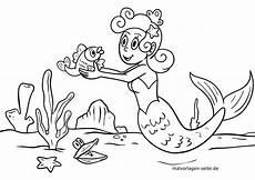Malvorlagen Meerjungfrau Malvorlage Meerjungfrau Kostenlose Ausmalbilder