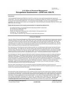 opm form 1203 fx download fillable pdf or fill online