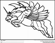 Ausmalbild Einhorn Fliegend Flying Unicorn Coloring Pages Coloring Pages