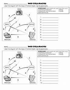 earth science worksheets answer key 13242 rock cycle quiz with answer key and practice worksheets earth science lessons quiz with