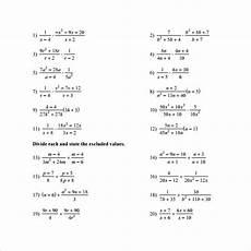 11 sle algebraic multiplication worksheets sle templates