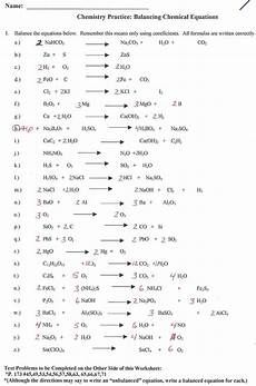 writing sentences as equations worksheet answer key 22153 balancing equations practice answers worksheet printable worksheets and activities for