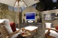 Fernseher Draußen Garten - outdoor fernseher outdoor fernseher diese m 246 glichkeiten