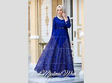 Hijab Fashion 2016/2017: Muslima Wear Magic Blue Dress