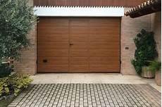 porte garage sezionali modello medici portone sezionale con pannello simil legno