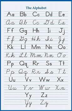 elementary cursive handwriting worksheets 21996 alphabet handwriting cursive poster 24 x 36 inch school elementary letters abc ebay
