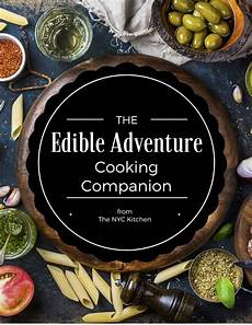 Kitchen Adventure by The Edible Adventure Companion Food Journal From The Nyc