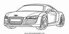 Malvorlagen Cars Quest Audi R8 Gratis Malvorlage In Autos2 Transportmittel