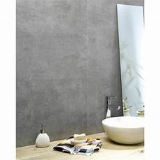 Plaque Revetement Mural Dalle Murale Pvc Gris Dumawall L 65 X L 37 5 Cm X Ep 5 Mm