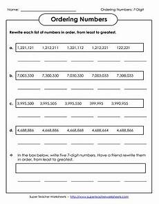 place value worksheets 7 digit numbers 5077 place value worksheets 7 digits or more