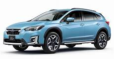 2019 subaru xv 2019 subaru xv e boxer revealed for japanese market