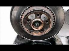 2004 volvo xc90 rear brake pads and rotors replacement
