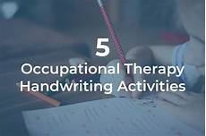 occupational therapy handwriting worksheets for adults 21876 5 ot activities for handwriting with children