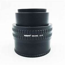 Newyi Mount Lens Adjustable Focusing Helicoid by Newyi M42 M42 Mount Lens 25 55mm Adjustable Focusing