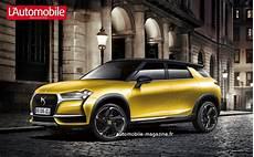 Urbain Et Chic Le Futur Suv Ds 3 Crossback L Automobile