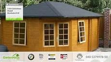 5 eck gartenhaus modell bornholm b 40