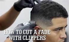 how to cut a fade with clippers think africa