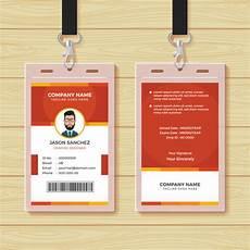 employee id card template ai free employee id card design template vector premium