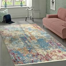 teppich de vintage teppich wohnzimmer abstraktes design teppich de