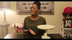 diy dollar tree wedding cake stand dessert tray cupcake stand youtube