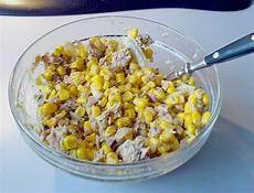 Thunfischsalat Mit Mais - einfacher mais thunfisch salat rezept mit bild