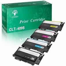 4pk clt 409s for samsung clp 315 color toner clp 315w clx