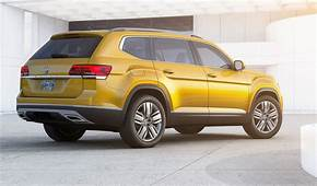 Volkswagen Atlas Seven Seat SUV Revealed  Photos CarAdvice