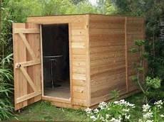 abri de jardin 5m2 abri de jardin en bois 224 toit plat sans d 233 bord de 5m2 224