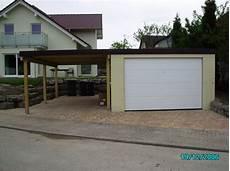 Carport Garage Kombination Holz - fertiggarage garagen carport kombination 9