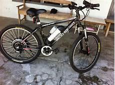Modifikasi Motor Jadi Sepeda by Cara Merakit Sepeda Ontel Jadi Sepeda Listrik Kendara