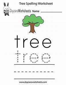 spelling names worksheets 22490 learn and practice how to spell the word tree using this printable preschool worksheet