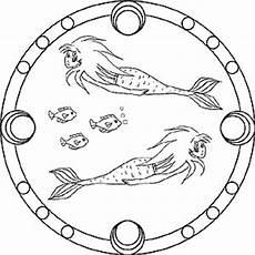 meerjungfrau kostenlose mandalas f 252 r kinder zum ausdrucken