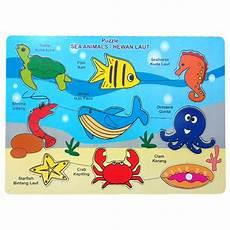 Puzzle Binatang Laut Mengenal Hewan Laut Dengan Puzzle