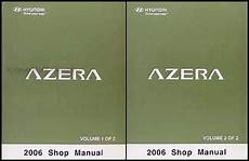 car repair manual download 2006 hyundai azera windshield wipe control 2006 hyundai azera repair shop manual 2 volume set original