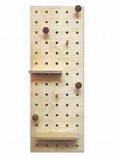 peg it all midi pegboard wall mounted storage panel in natural kreisdesign