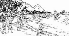 ausmalbilder malvorlagen strand urlaub malvorlagen