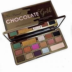 Faced Chocolate Gold Bar faced chocolate gold bar palette pretty