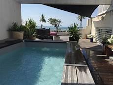 villa sur le toit de haut standing avec vue mer