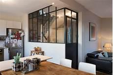 cloison vitrée cuisine verri 232 re et cloison atelier d artiste pour une cuisine ou