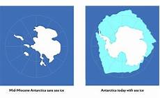 antarctic ice sheet could suffer a one two climate punch eurekalert science news