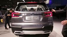 2019 subaru ascent debut 2019 subaru ascent 3 row suv to debut at 2017 la auto show