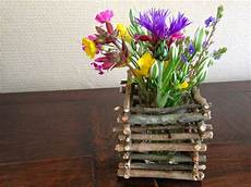 vasi in legno fai da te cachepot fai da te con dei legnetti 20 idee stupende per