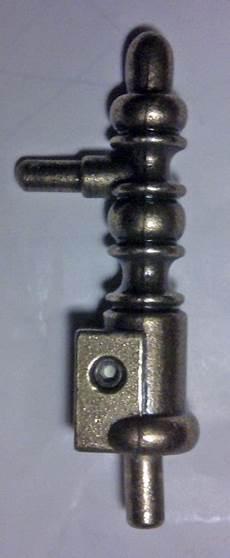 fiche à lacet lapeyre embout de reparation axe 6 mm fiches argent compg